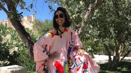 Caterina Balivo: gli outfit per l'estate 2018