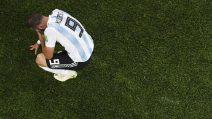 Argentina-Nigeria, Higuaìn in lacrime a fine gara