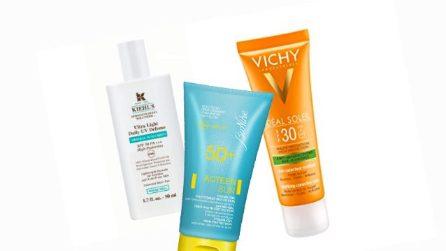 Le creme solari per la pelle acneica