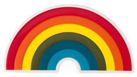 La moda arcobaleno per l'estate 2018
