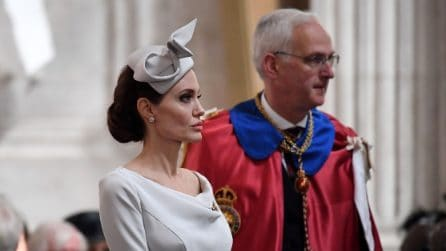 Angelina Jolie elegantissima all'evento alla cattedrale di St Paul