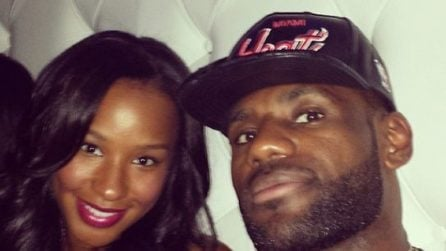 Le foto di LeBron James e Savannah Brinson