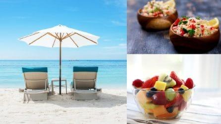 Cosa mangiare al mare: 10 cibi da gustare comodamente in spiaggia