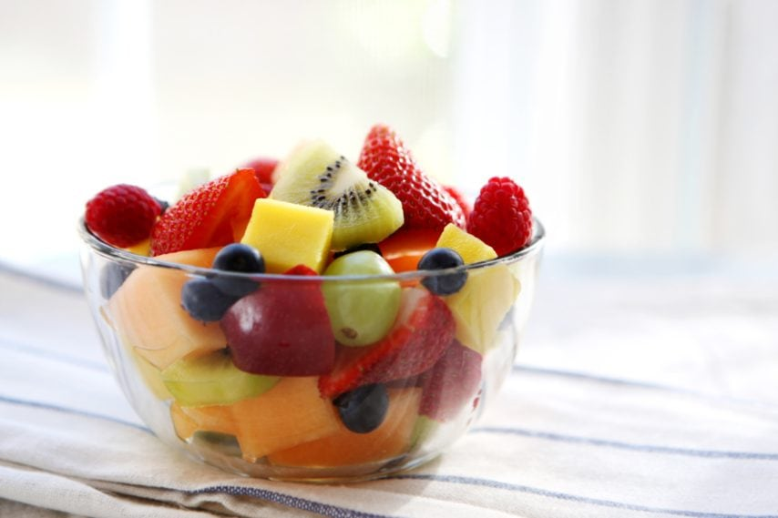 Un'ottima combinazione di frutta fresca.