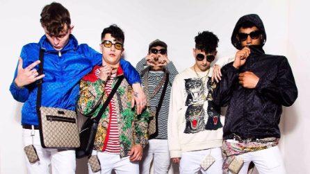 Dark Polo Gang, la band con la passione per la moda