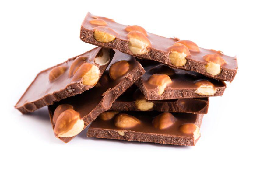 Cioccolato e nocciola.