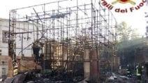 Cinecittà, in fiamme il set di Roma antica degli studios