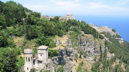 Le splendide immagini di Erice, perla della Sicilia