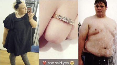 Decidono di perdere peso in vista delle nozze: la straordinaria trasformazione della coppia