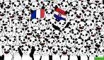 Il test per la finale Francia Croazia: riesci a trovare il pallone in foto?