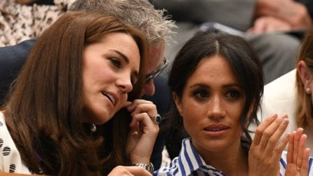 Wimbledon 2018, Kate Middleton e Meghan Markle insieme in tribuna
