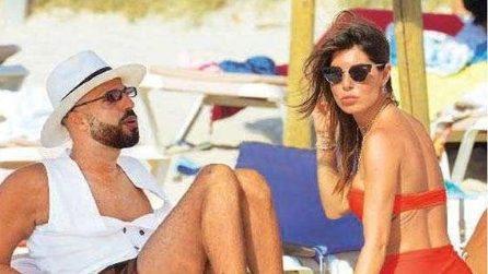 Le foto di Bianca Atzei e Jonathan Kashanian a Formentera