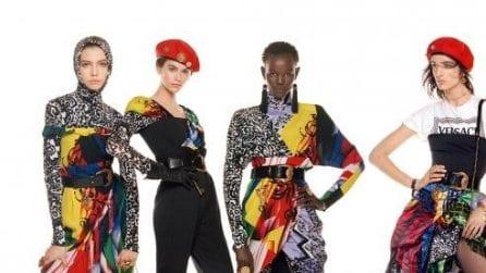 Versace: la foto più lunga della storia per la nuova campagna