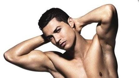 10 foto sexy di Cristiano Ronaldo in mutande