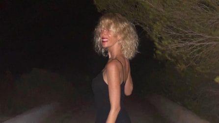 """Alessia Marcuzzi: capelli """"sauvage"""" per l'estate 2018"""