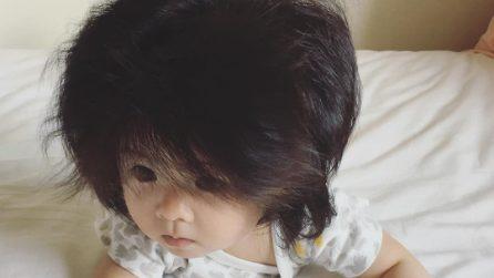 Baby Chanco, la bimba capellona è una star dei social