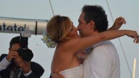 Il secondo matrimonio di Claudio Santamaria e Francesca Barra