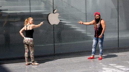 L'Apple Store di Milano in immagini