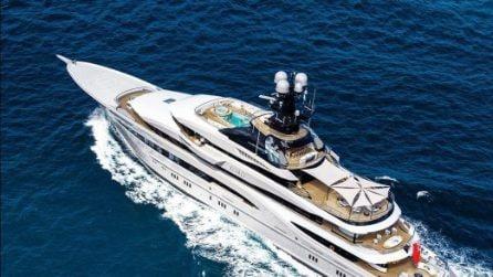 Il lussuoso yacht per le vacanze in Italia di Beyoncé