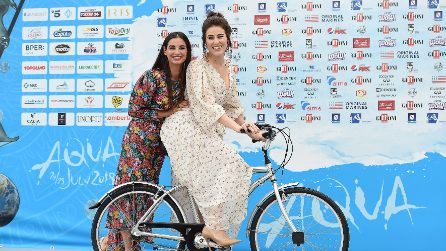 Francesca Chillemi e Diana Del Bufalo vestono coordinate