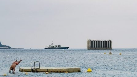 Il nuovo quartiere galleggiante del Principato di Monaco prende vita