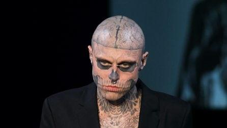 "Le foto di Rick Genest, ""Zombie Boy"""