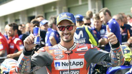 MotoGP, Dovi in pole a Brno, Rossi e Marquez in prima fila