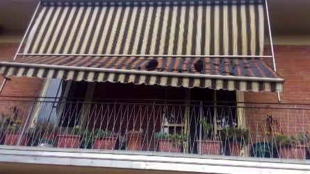 Borgo Panigale, le case danneggiate dall'esplosione dell'autocisterna