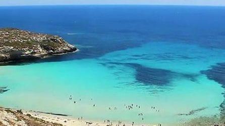Spiaggia dell'Isola dei Conigli: un sogno a Lampedusa