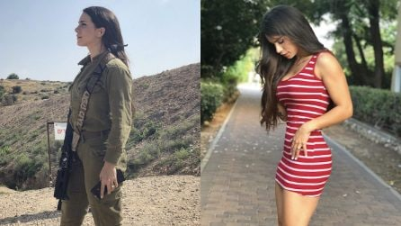 La sexy ex-soldatessa dalle curve mozzafiato