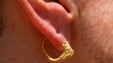 Le foto dell'orecchino più antico al mondo