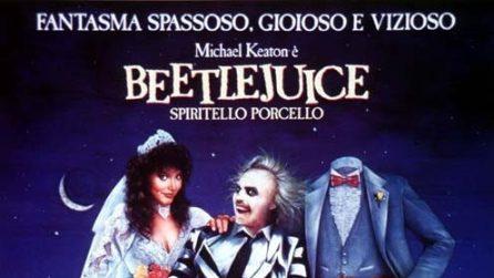 Le locandine dei film più belli di Tim Burton