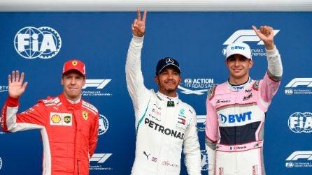 Hamilton conquista anche Spa, la pole position è sua. La Ferrari di Vettel in prima fila