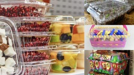 Come riciclare le vaschette di plastica del supermercato