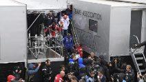 MotoGP, pioggia e caos a Silverstone: gara cancellata