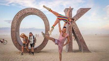 Immagini in anteprima dal Burning Man 2018