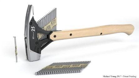 Designer inventa il martello automatico: il fai da te non è mai stato tanto facile