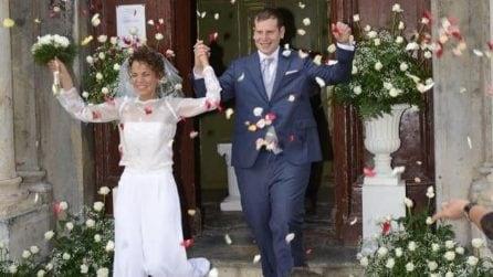 Le foto del matrimonio di Valeria Favorito