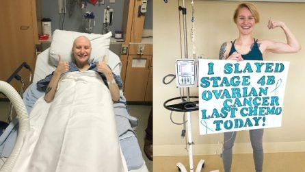A soli 23 anni le viene diagnosticato un cancro al 4 stadio, combatte con un enorme arma: il sorriso