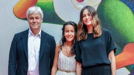 Sophie Taricone a Venezia 2018 con Kasia Smutniak e Domenico Procacci