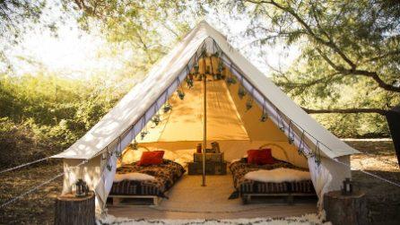 Glamping, l'arte del campeggiare con stile