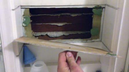 C'è qualcosa dietro quel muro: scopre un tesoro nel suo bagno
