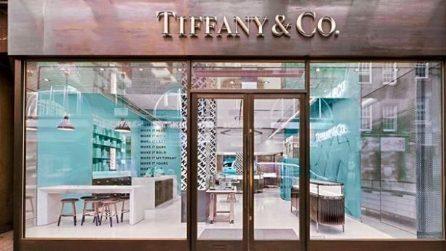 Nel nuovo negozio Tiffany & Co. a Londra