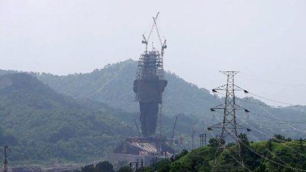 Ecco la statua più alta del mondo: si trova in India
