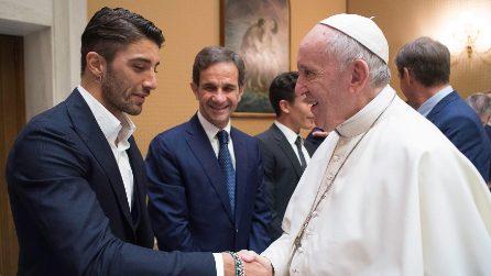Il Papa riceve la MotoGp