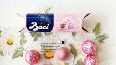 La limited edition di Baci Perugina rosa
