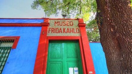 Nella casa di Frida Kahlo