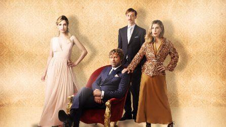 Romolo + Giuly, i personaggi e il cast