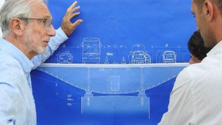 Crollo Ponte Genova, un mese dopo: i disegni del progetto di Renzo Piano