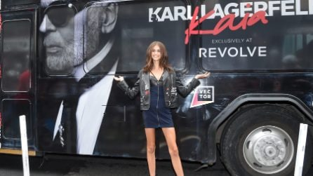 Kaia Gerber presenta la capsule collection x Karl Lagerfeld